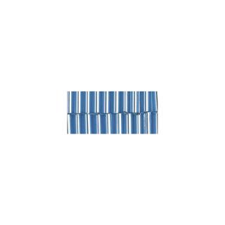 Chevilles en verre. 7/2 mm<br />bleu clair