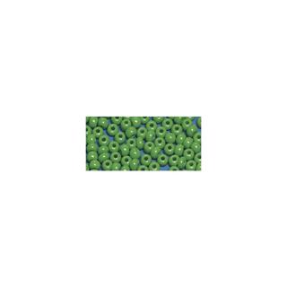 Perles indiennes. 4.5 mm ø<br />vert