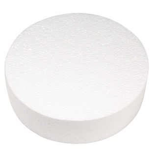 Disque en polystyrene<br />ø 25 cm, 7 cm
