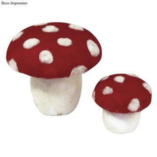 Champignon en polystyrene<br />13 cm