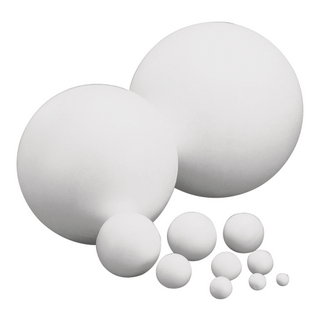 Boules en polystyrene, 1 pièce<br />6 cm ø