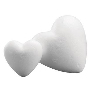 Coeur en polystyrene<br />9 cm