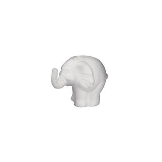Elephant en polystyrene<br />11 cm