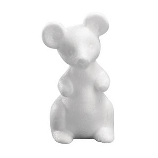 Souris en polystyrene<br />13 cm