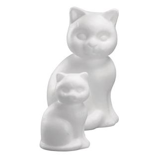 Chat en polystyrene<br />13 cm