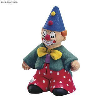 Clown en polystyrene (non peint)<br />25 cm