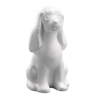 Chien en polystyrene<br />25 cm