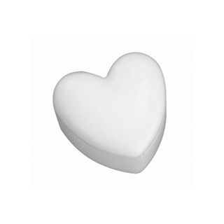 Bo&icirc;te en polystyrene Cœur<br />15 cm 2 parties