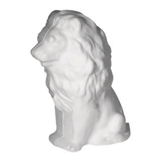 Lion en polystyrene<br />16 cm