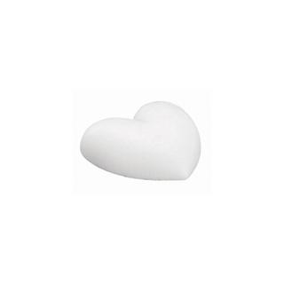 Coeur en polystyrene<br />9 cm, plat