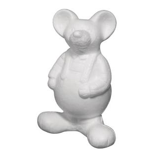 Souris en polystyrene<br />21 cm