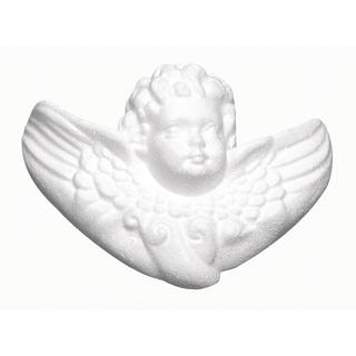 Angelot en polystyrene<br />12,5 cm