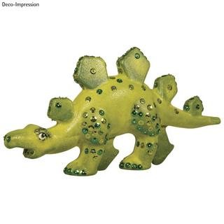 Dino en polystyrene<br />25,5x13cm