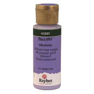 Peinture tous usages 59 ml<br />violet clair