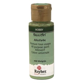 Peinture tous usages 59 ml<br />vert menthe