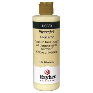 Peinture tous usages 235 ml<br />ivoire