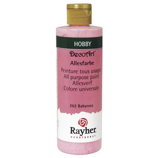 Peinture tous usages 235 ml<br />rose layette