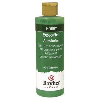 Peinture tous usages 235 ml<br />vert poison