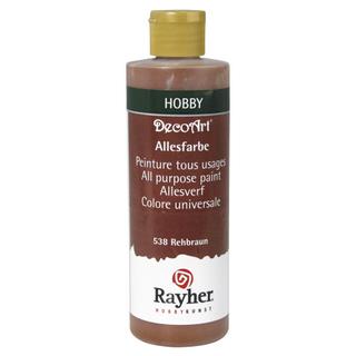 Peinture tous usages 235 ml<br />brun chevreuil