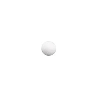 Boules en ouate. blanches<br />20 mm ø. sct.-LS 35 pces