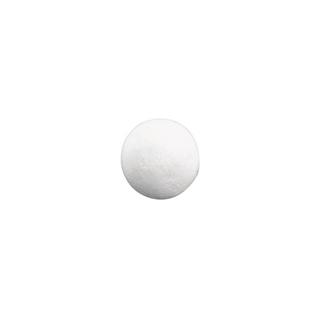Boules en ouate. blanches<br />35 mm ø. sct.-LS 11 pces