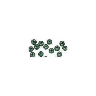Perles en bois, polies, 6 mm ø, rondes<br />vert mai