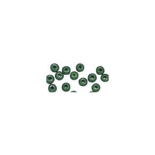 Perles en bois, polies, 8 mm ø, rondes<br />vert mai
