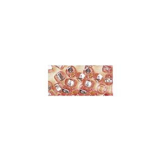 Rocailles. 2 mm ø. avec garniture argent<br />rose. pas lavable