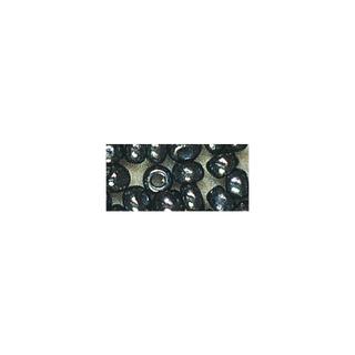 Rocailles. 2 mm ø. avec garniture argent