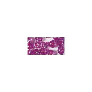 Rocailles. 2 mm ø. avec garniture argent<br />rose fonce. pas lavable