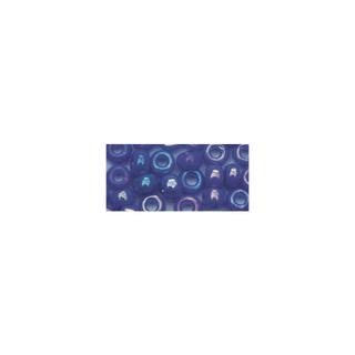 Rocailles. 2 mm ø. opaques lustre<br />bleu fonce