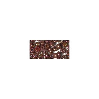 Rocailles. 2 mm ø. opaques lustre<br />rouge vin