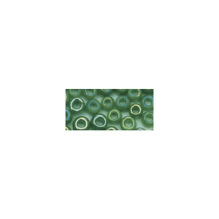 Rocailles. 2 mm ø. opaques lustre<br />vert