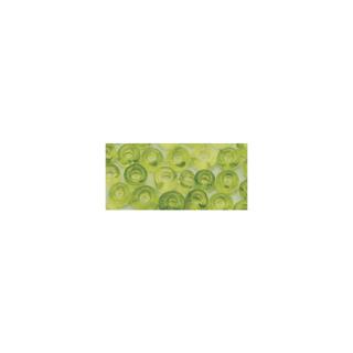Rocailles. 2 mm ø. transparentes<br />vert clair