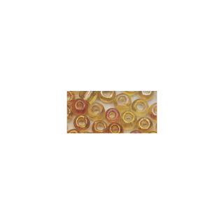 Rocailles. 2 mm ø. transparentes lustre<br />or