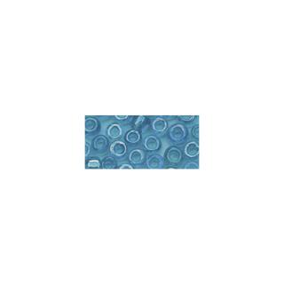 Rocailles. 2 mm ø. transparentes lustre<br />turquoise