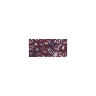 Rocailles. 2.6mm ø. transparentes lustre<br />lilas