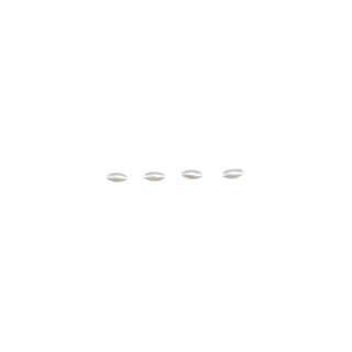 Perles Olives, 6x3 mm<br />blanc