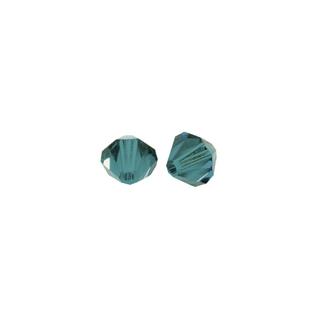 Perles cristal Swarovski 3 mm bte. de 50 pces<br />turquoise d`Inde