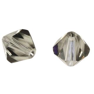 Perles cristal Swarovski 3 mm bte. de 50 pces<br />gris argente