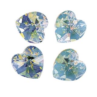 Swarovski Coeur cristal 10,3x10 mm<br />aurore boreale