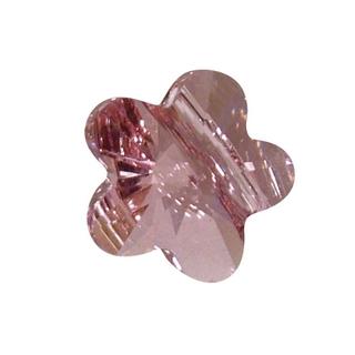 Swarovski Perle cristal Fleur 8 mm<br />rose chiffon