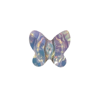 Swarovski Perle cristal Papillon 8 mm<br />aurore boreale