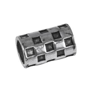 Element bijou en laiton-Dayton 1,5x0,9cm, ø 7mm, sct,-LS 2 <br />argent