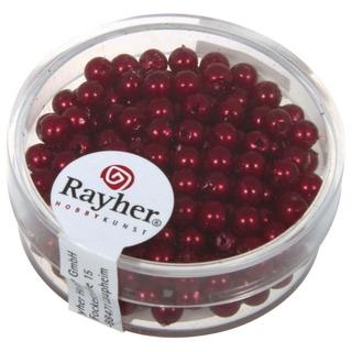Perles de cire, 4 mm ø<br />rouge