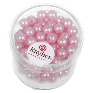 Perles de cire, 6 mm ø<br />rose