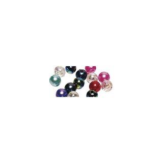 Perles en cire, 3mm ø<br />assorties,