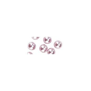 Perles en cire, 4mm ø<br />rose,