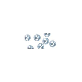 Perles en cire, 6mm ø<br />bleu clair,
