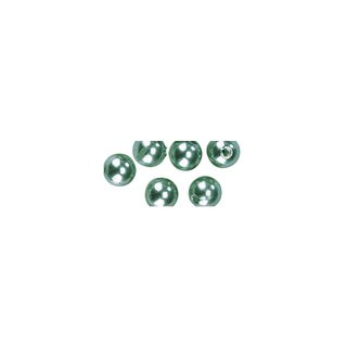 Perles en cire, 6mm ø<br />vert clair,
